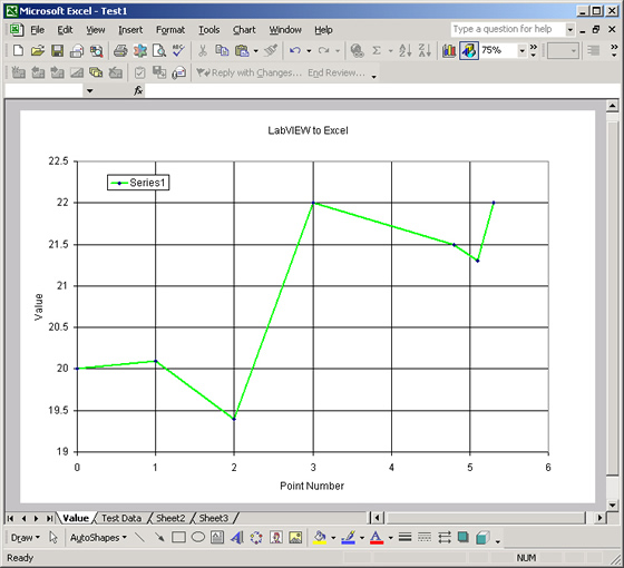 Create Excel Plot from LabVIEW (Excel)